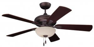 Emerson Transitional Fan Monerey Lumina