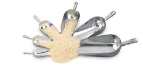 aluminum scoops