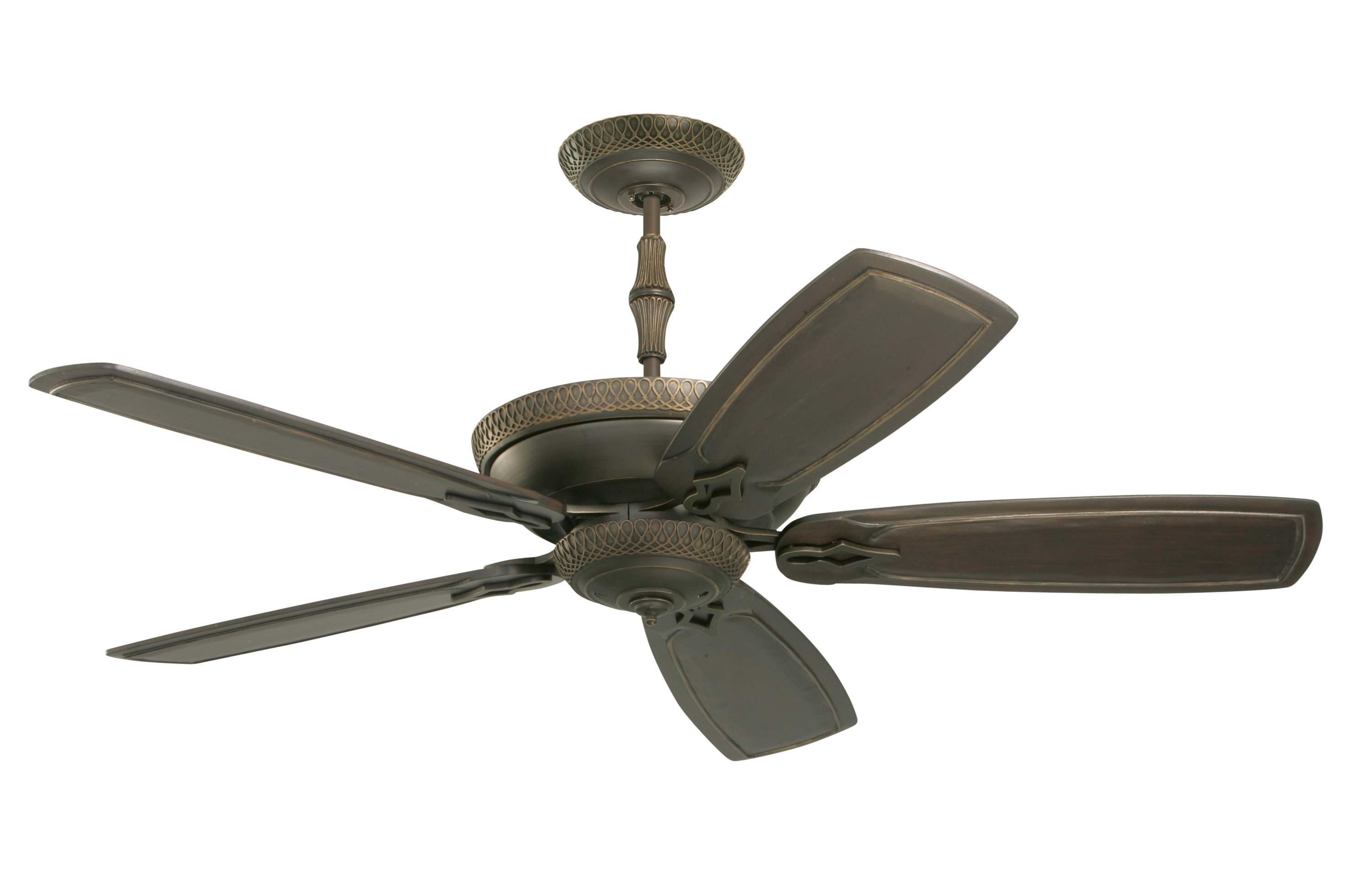 cfm ceiling optional emerson shown bronze with image glass croix double magnifying rubbed fans oil blades fan hand carved finish in capitol paddle inch st item walnut