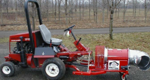 front mount mower
