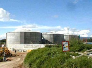 Waste Water Plant in Bogota