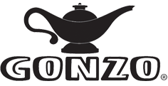 Gonzo logo on Dorian Drake International