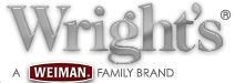 Wright's logo, a Weiman Family Brand