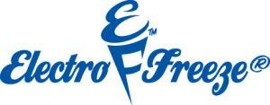 Electro Freeze soft-serve equipment logo on Dorian Drake International website