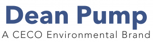 on Dorian Drake International website, Dean Pump® logo, recognized worldwide for high quality industrial process pumps, manufactured in various metals to handle high temperature and chemical process applications.