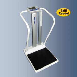 Befour MX810 Measurement Station Bariatric Tilt & Roll Handrail Scale on Dorian Drake International
