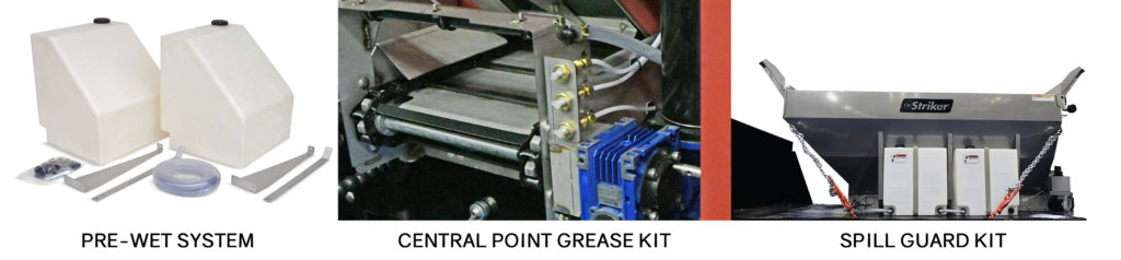 Western Snowplows, pre-wet system, central point grease kit, spill guard kit, on Dorian Drake International website