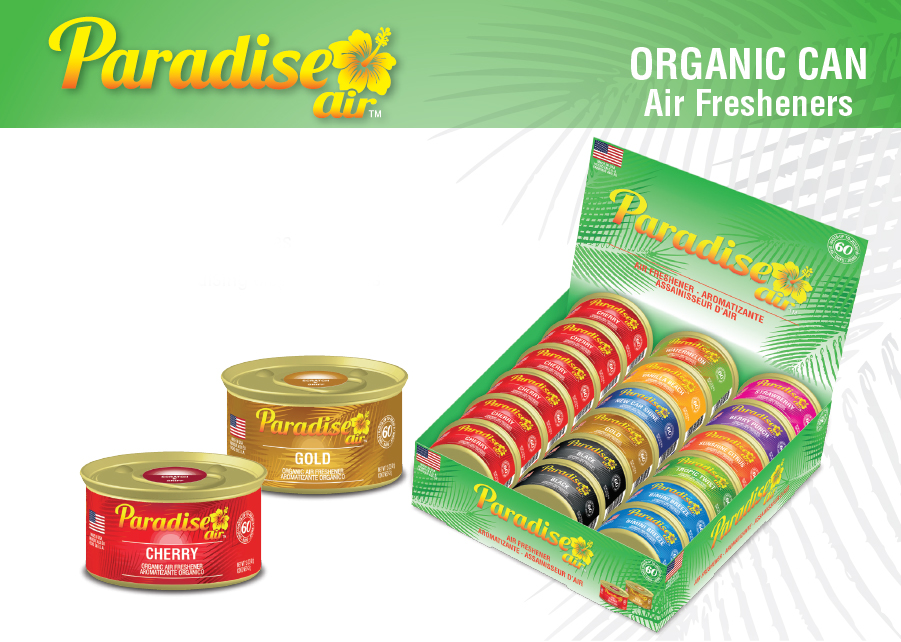 Air Fresheners - Organic Fragrances