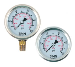 SPAN-industrial-pressure-gauges-stainless-case