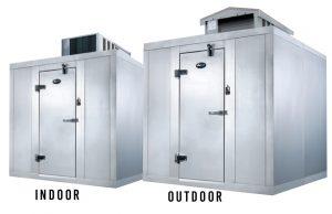 Refrigeradores y congeladores para interiores y exteriores de Amerikooler Quick-Ship