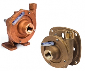 Centrifugal Pumps, Models 104M (Right) and 60P (Left)
