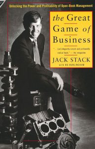 Great Game of Business book cover